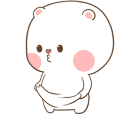check out the TuaGom : Puffy Bear sticker by Tora Jung on chatsticker.com