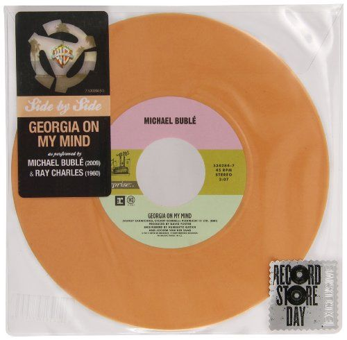 "News Georgia On My Mind (Limited Edition 7"" Peach Colored Vinyl)   buy now     $9.45 [ad_1] Warner Bros. Records ""Side By Side"" - a series of extremely limited-edition 7"" vinyl singles featuring iconic WB artist... http://showbizlikes.com/georgia-on-my-mind-limited-edition-7-peach-colored-vinyl/"