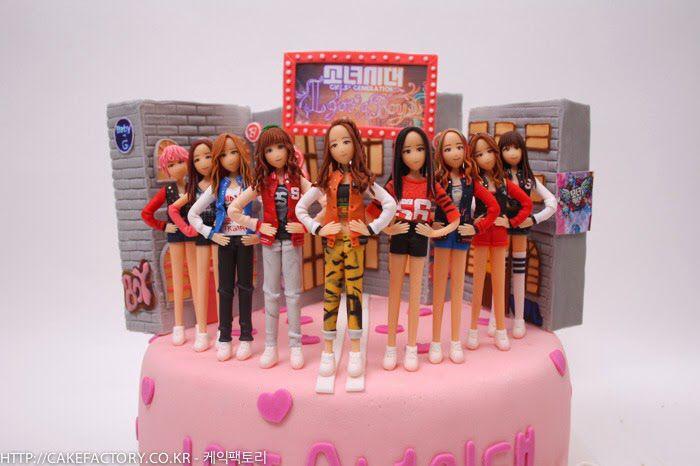 Snsd Igab Cake Themed Cakes Cake Birthday