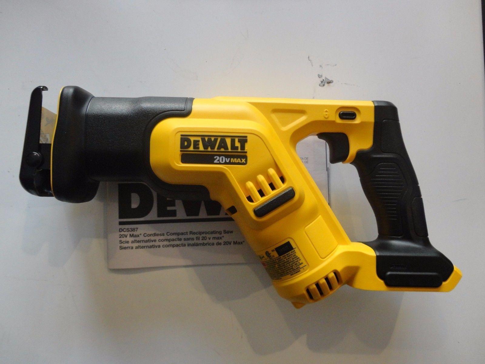 Dewalt Dcs387b 20v 20 Volt Max Li Ion Compact Reciprocating Saw Tool Only Saw Tool Dewalt Reciprocating Saw