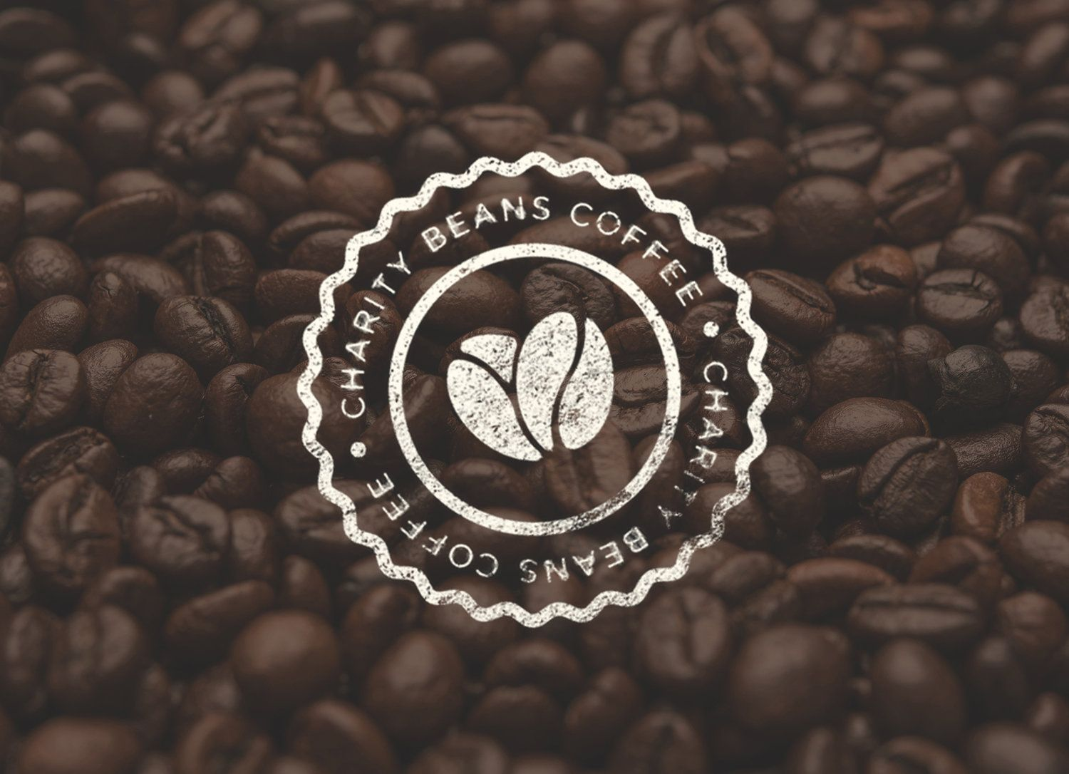 Charity Beans Coffee Coffee beans, Coffee logo, Coffee