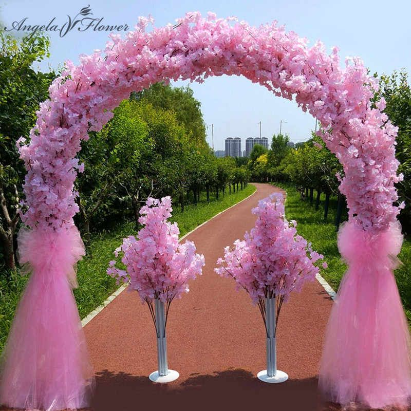 25m metal wedding iron arch stand decorative artificial