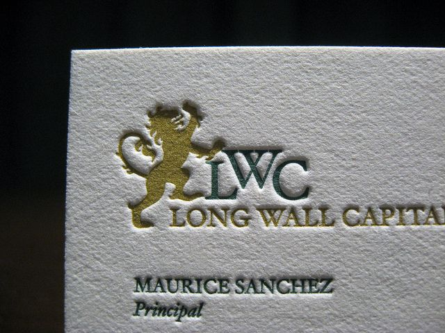 Long wall capital business cards pinterest business cards classic reheart Images