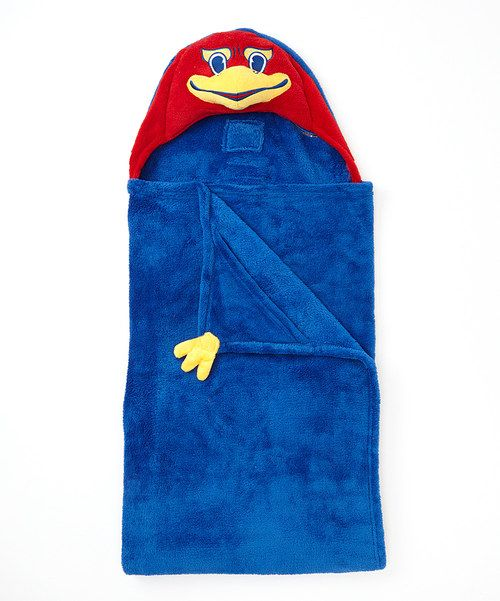 This plush pal unfolds into a snuggable hooded blanket so any little fan can cuddle in spirited style. Sporting a marvelous mascot hood and cozy chenille, this versatile piece promises to be a game-winning companion. 36'' x 47''100% polyesterHand wash; hang dryImported