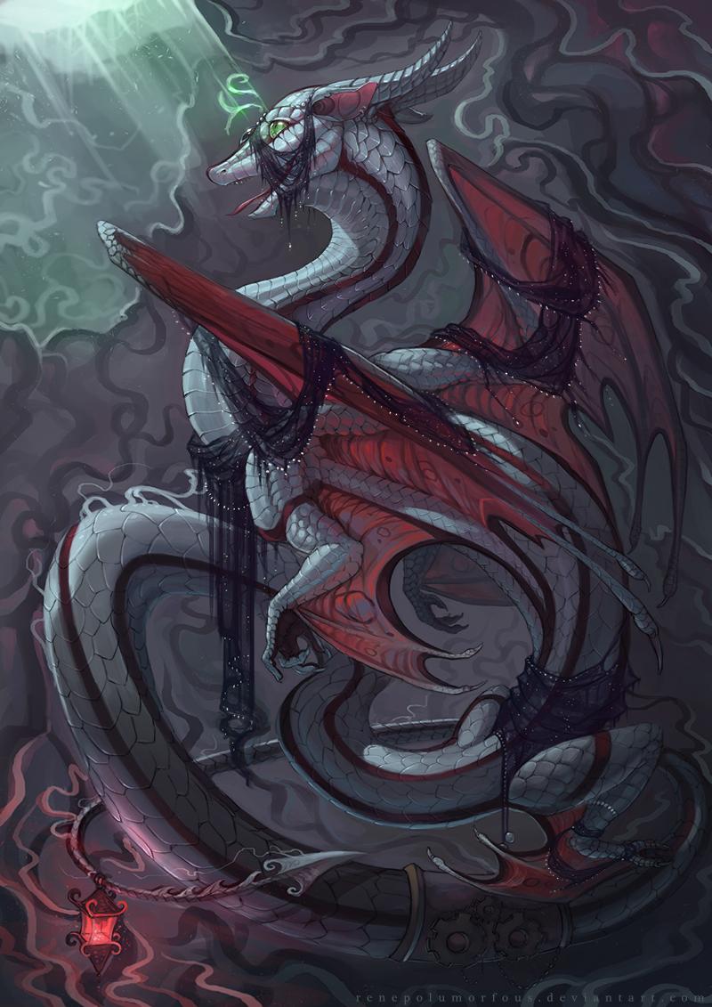 Iskars's lair Photo Art, Fantasy art, Mythical creatures