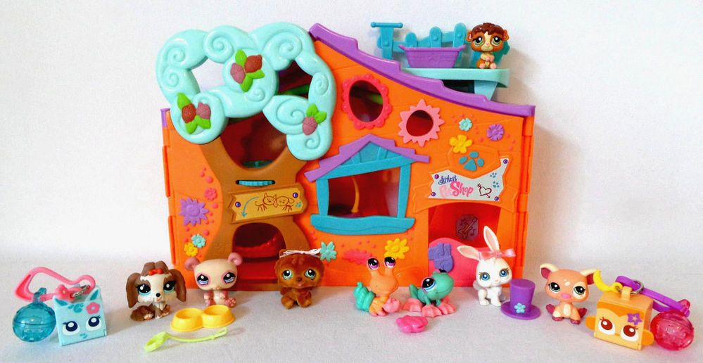 Littlest Pet Shop Pets Only Clubhouse Tree House Pets And Accessories Hasbro Littlest Pet Shop Pets Pet Shop