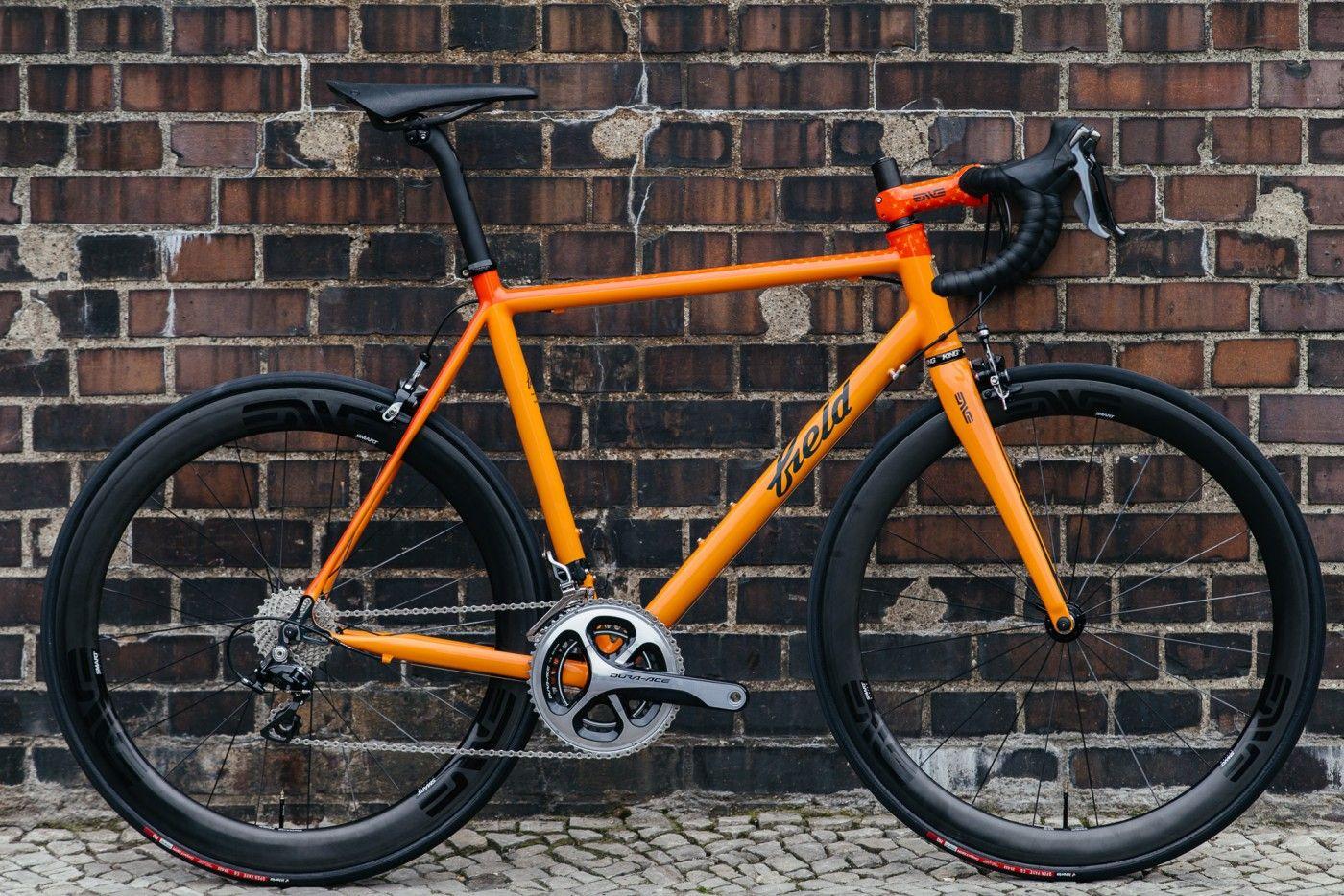 Field Cycles Orange Road Bike with Dura Ace | The Radavist ...
