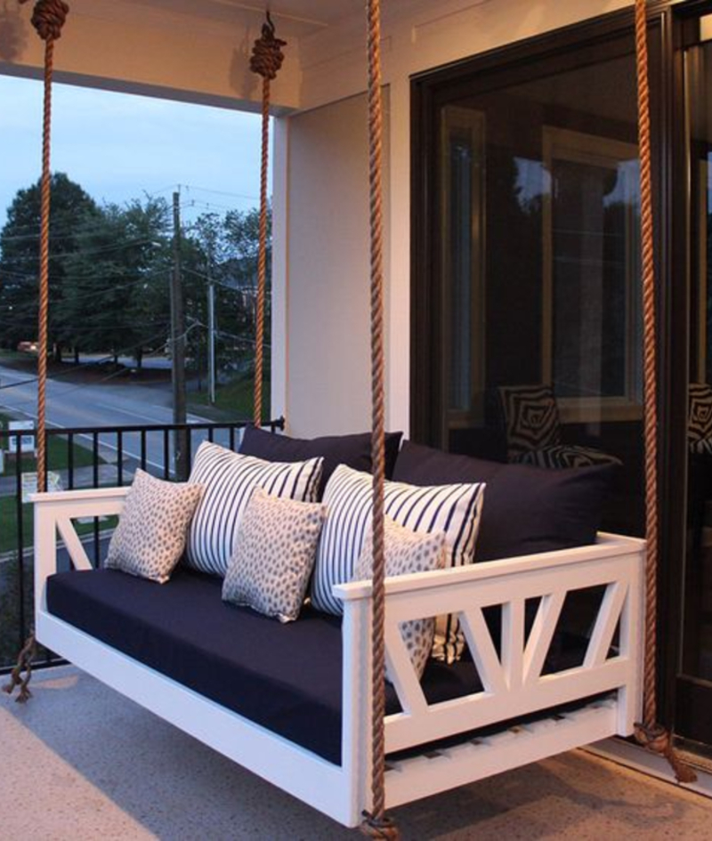 Pin On Porch Swing Bed