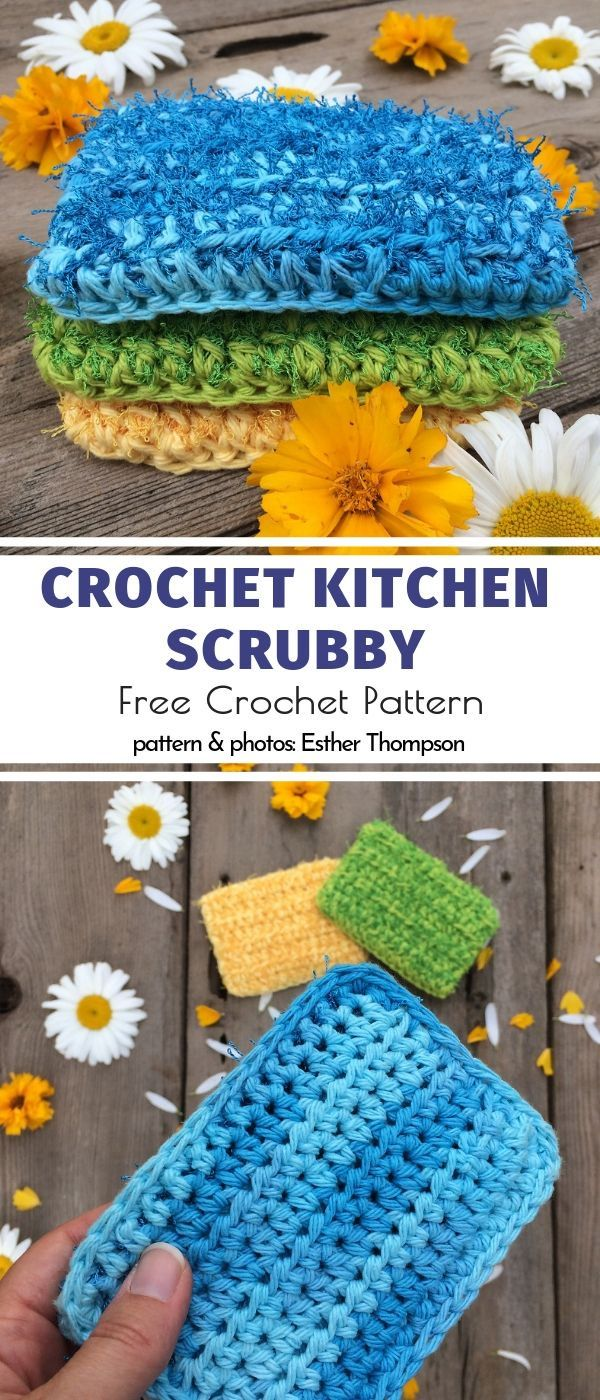 Photo of Useful Crochet Kitchen Accessories Free Patterns