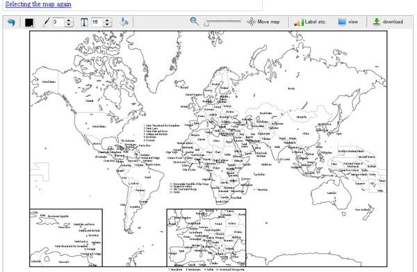 Great Resources To Get Useful World Map Information Projects - World map black and white printable with countries