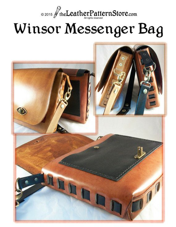 Pattern Weaver Style Messenger Bag Pattern For Leather Pdf