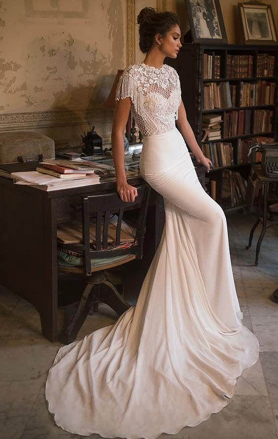 wedding dress inspiration - julie vino   my wedding   boda, vestidos