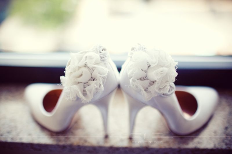 one word...perfect #mirabellabeauty #wedding #shoes