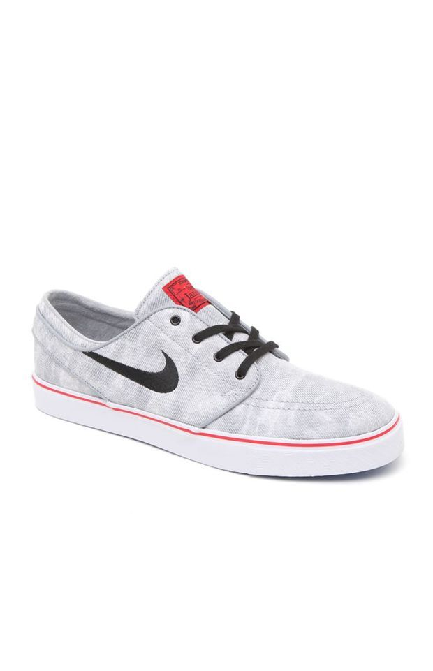 f2d9ee1537 Nike SB Zoom Stefan Janoski Canvas Mexico City Shoes - Mens Shoes - Grey