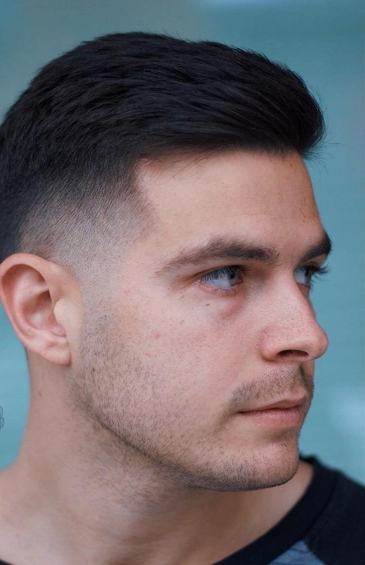 coupe homme court tendance saison printemps été 2018 hairstyle