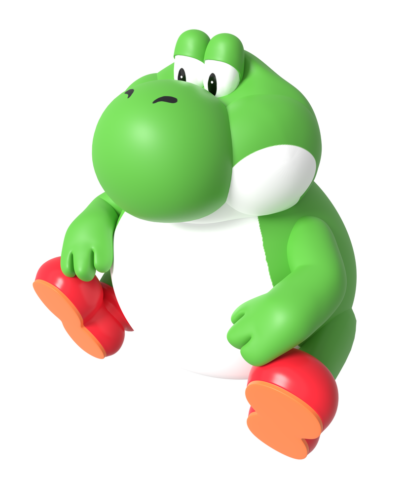 Big Yoshi Render By Https Www Deviantart Com Nintega Dario On Deviantart Yoshi Nintendo Art Rendering