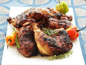 Spicy Grilled Jerk Chicken Recipe Recipe Jamaican Recipes Jerk Chicken Recipe Food Lab