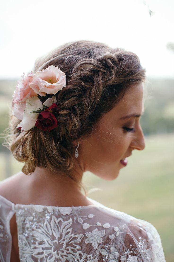 Rustic romance wedding inspiration with beautiful flowers wedding