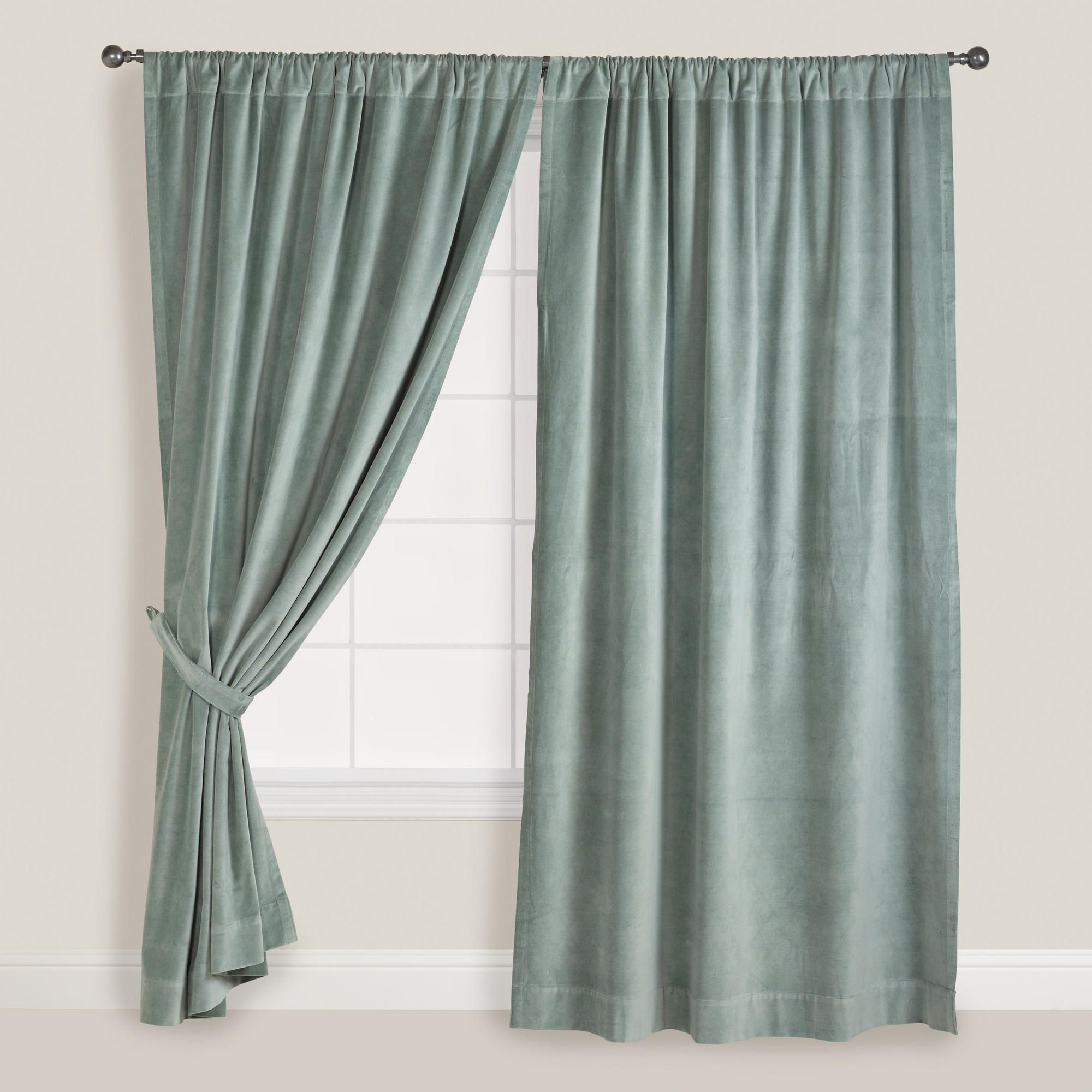 ideas target blue curtains design slate curtain home
