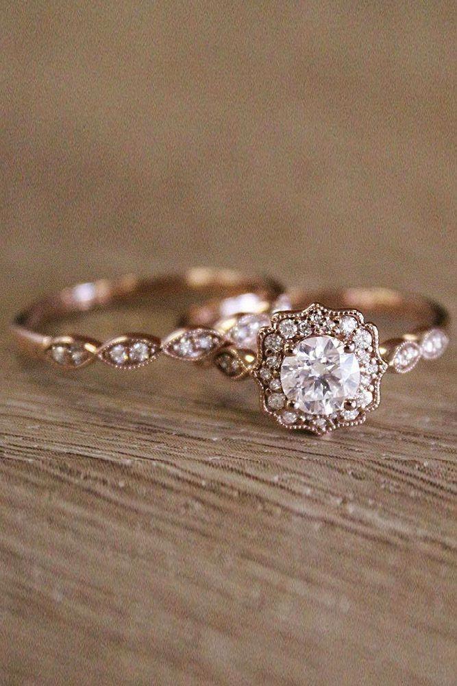 Unusual Engagement Rings Diamond Certified Gemstone Jewelry 20181103 Wedding Rings Vintage Wedding Rings Rose Gold Wedding Rings Halo
