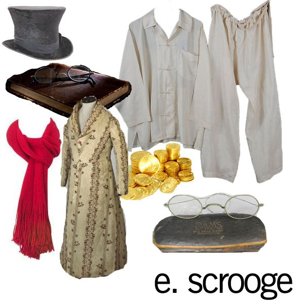 Feeling Scrooge-y? Dress like Scrooge and get in the holiday spirit!