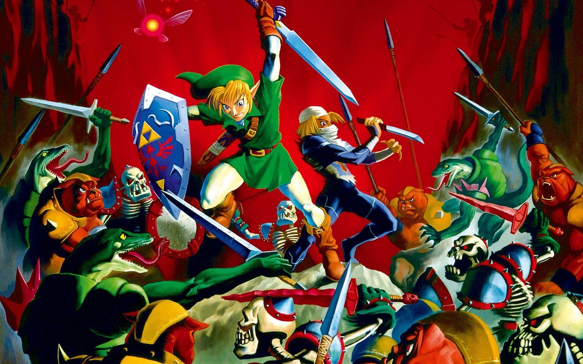 Zelda iphone wallpaper tumblr - The Legend Of Zelda Ocarina Of Time Images Cool Loz Wallpaper Hd