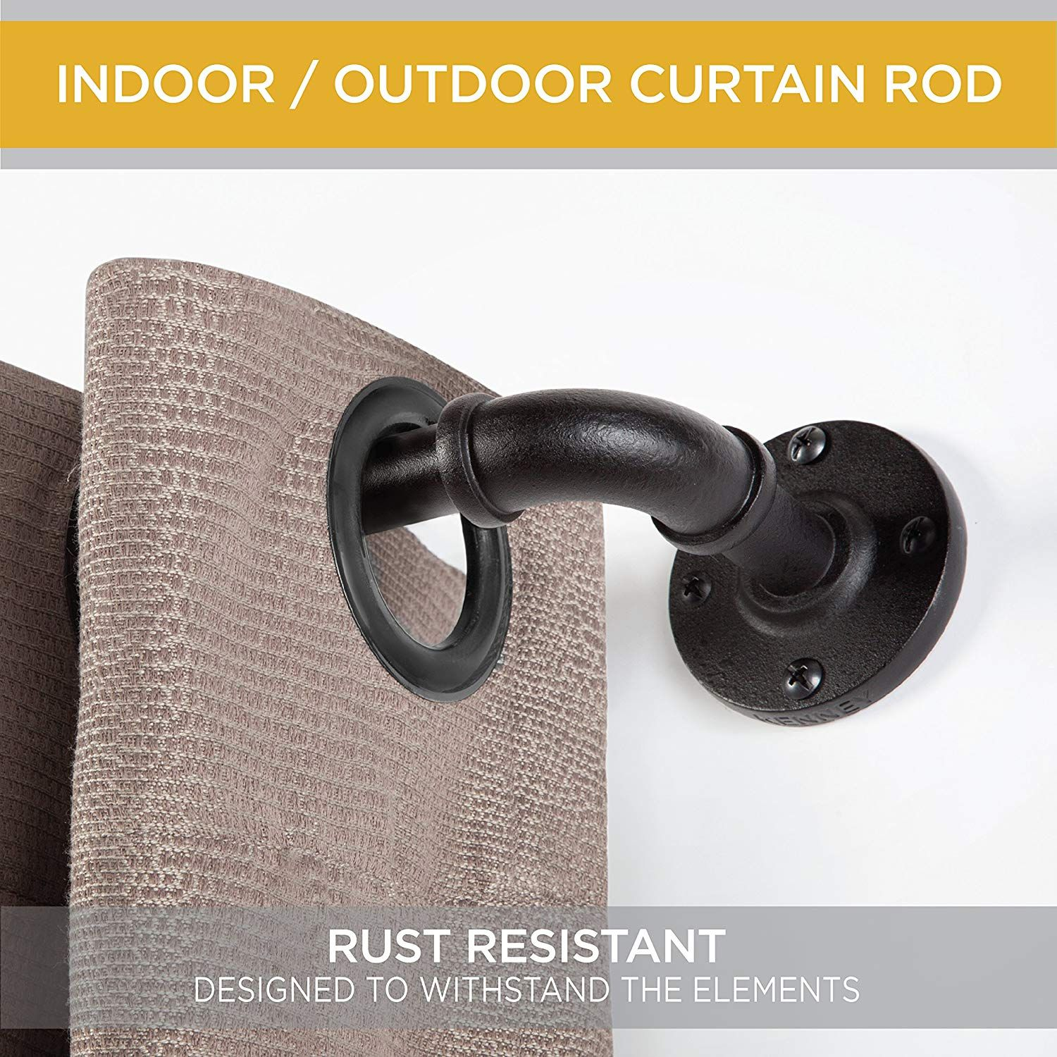 Curtain Rods are the best quality product for holding curtains to