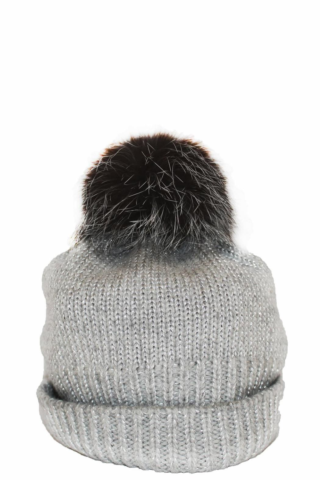 87ab23bc3 Mitchies Matching Silver Knit Hat | Boutique Highlights | Knitted ...