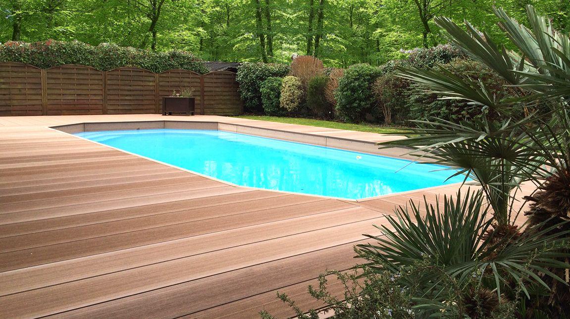 Plage De Piscine Sans Margelle Lame De Terrasse Deck 30 Heat Outdoor Decor Outdoor Pool