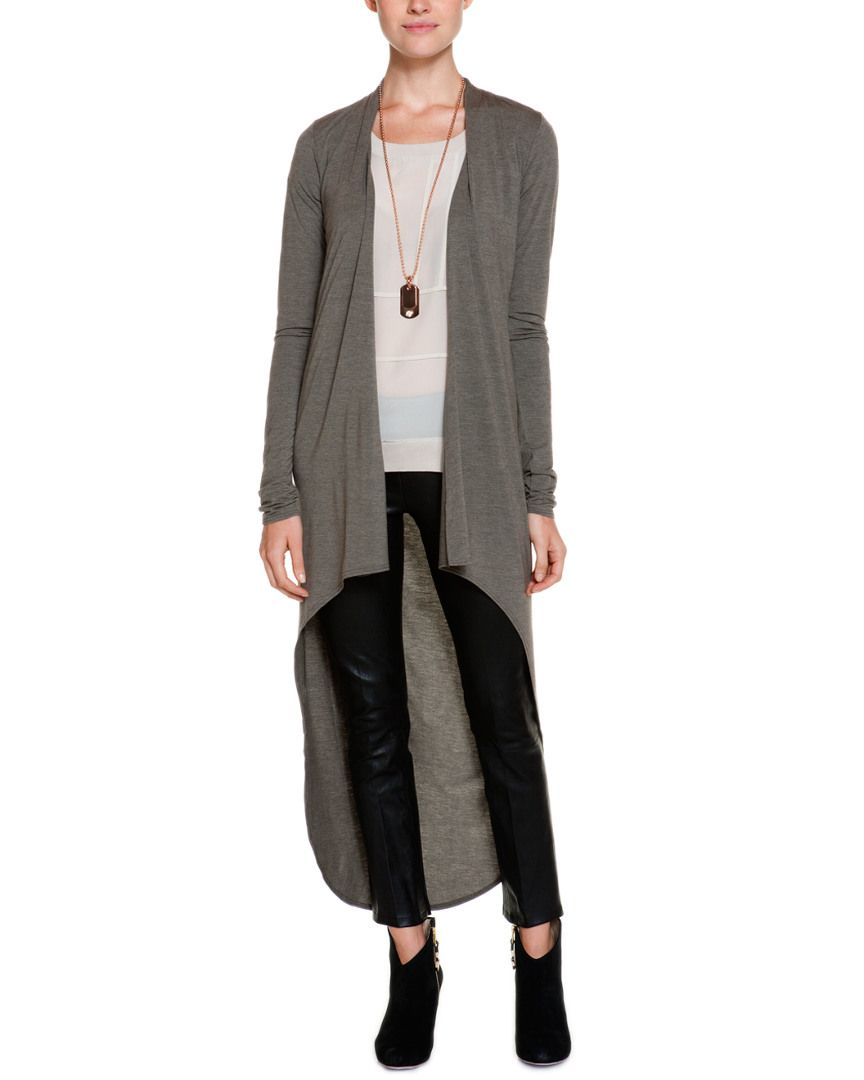 Riller & Fount Gunner High-Low Extra Long Cardigan is on Rue. Shop ...