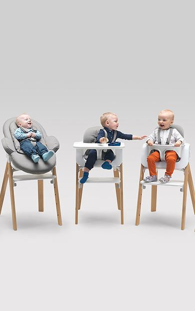 ergonomic chair norway florence dining an baby that grows with your kid tots in 1972 a norwegian company called stokke rightly ascertained parents could use more streamlined system for plopping down their kids