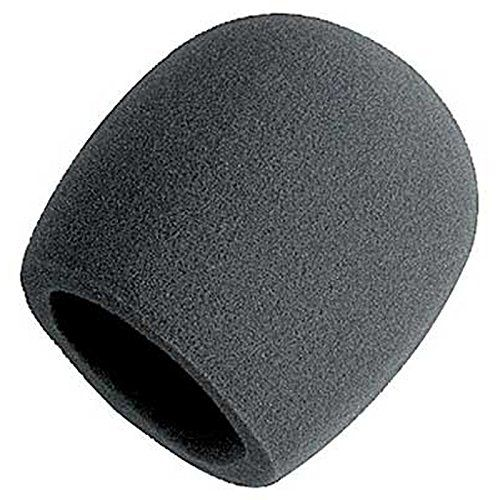 On Stage Foam BallType Mic Windscreen Black