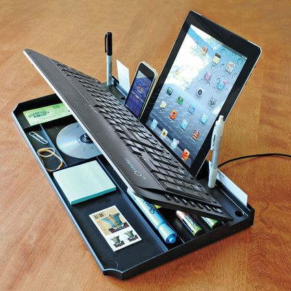 Keyboard storage solution   Inventions, Cool technology