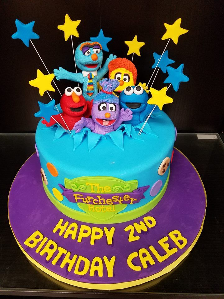 The Furchester Hotel Cake Sesame Street Uk Character Cakes In