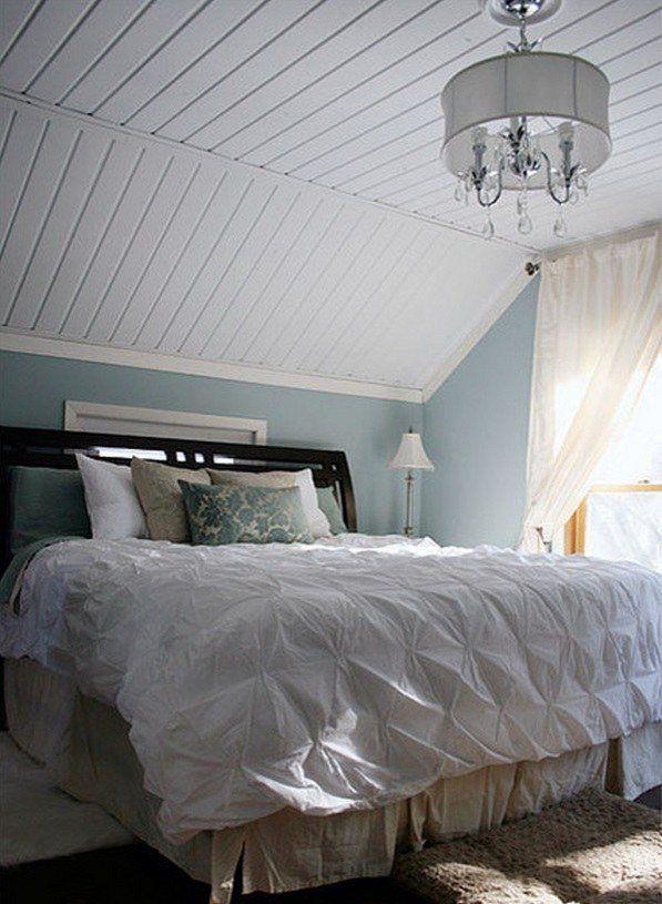 attic renovation ideas bedroom decoration ideas beadboard ...