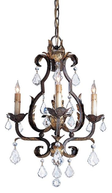 Tuscan Chandelier Lighting 3e Currey Company
