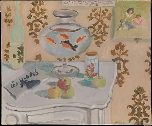 Henri Matisse, <em>The Goldfish Bowl</em>, (1921-22). <br>Image: Courtesy of the Metropolitan Museum of Art</br>