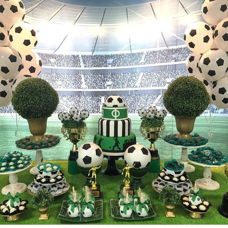 Petitpartyssa Usa Nossos Vasinhos Em Formato De Bola De Futebol Na