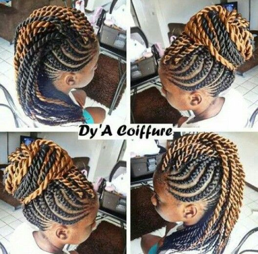 Fabulous Versatile Braided Mohawk | Mohawks, Galleries and Hair style JE62