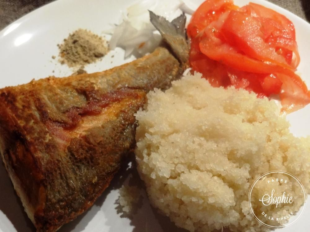 Attieke la dorade royale c te d ivoire cuisine for Africaine cuisine