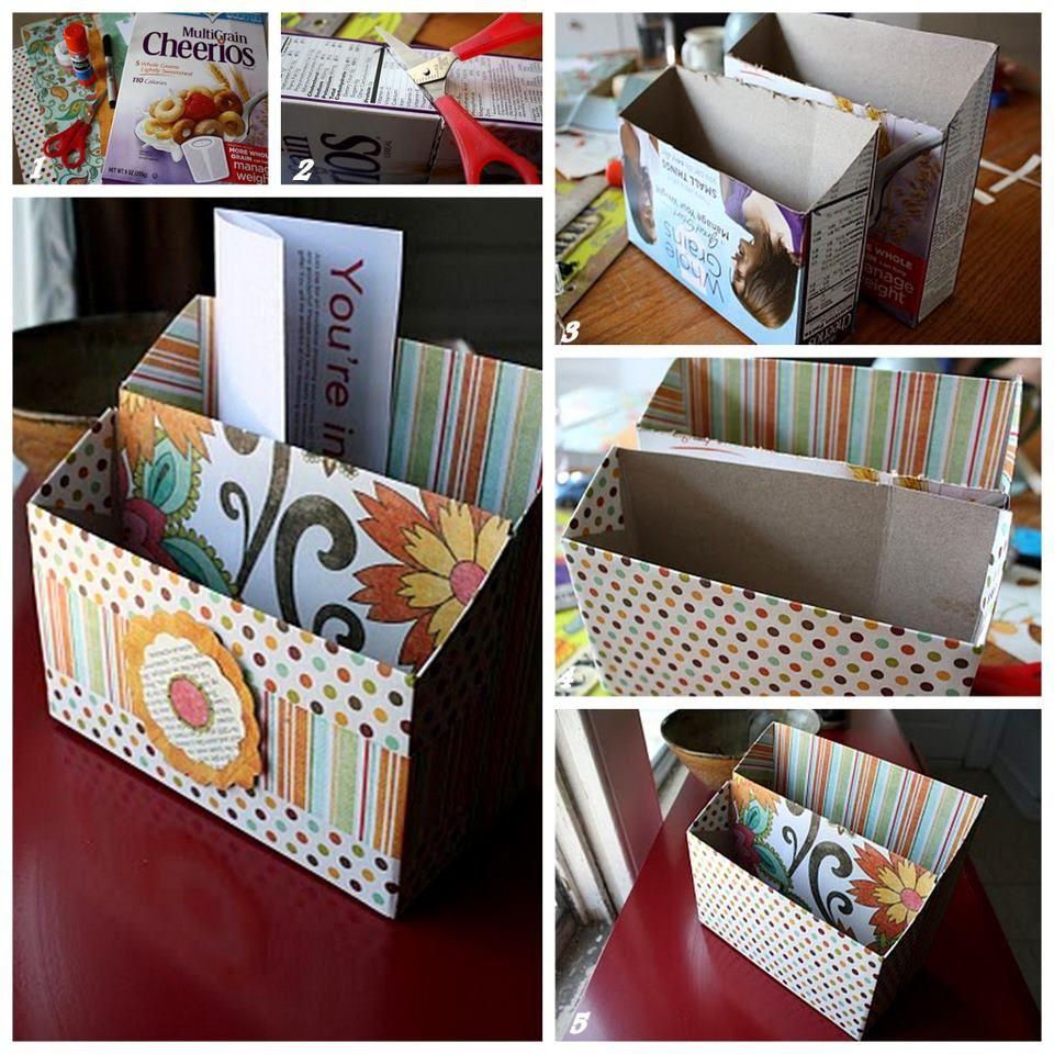 Recicla y decora entrada organizadores y cajas - Recicla y decora ...