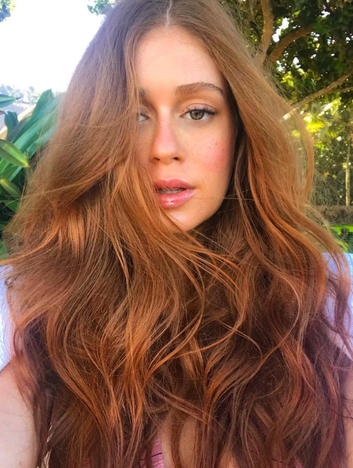 Marina Ruy Barbosa red hair color ideas haircolor redhead Ruivas