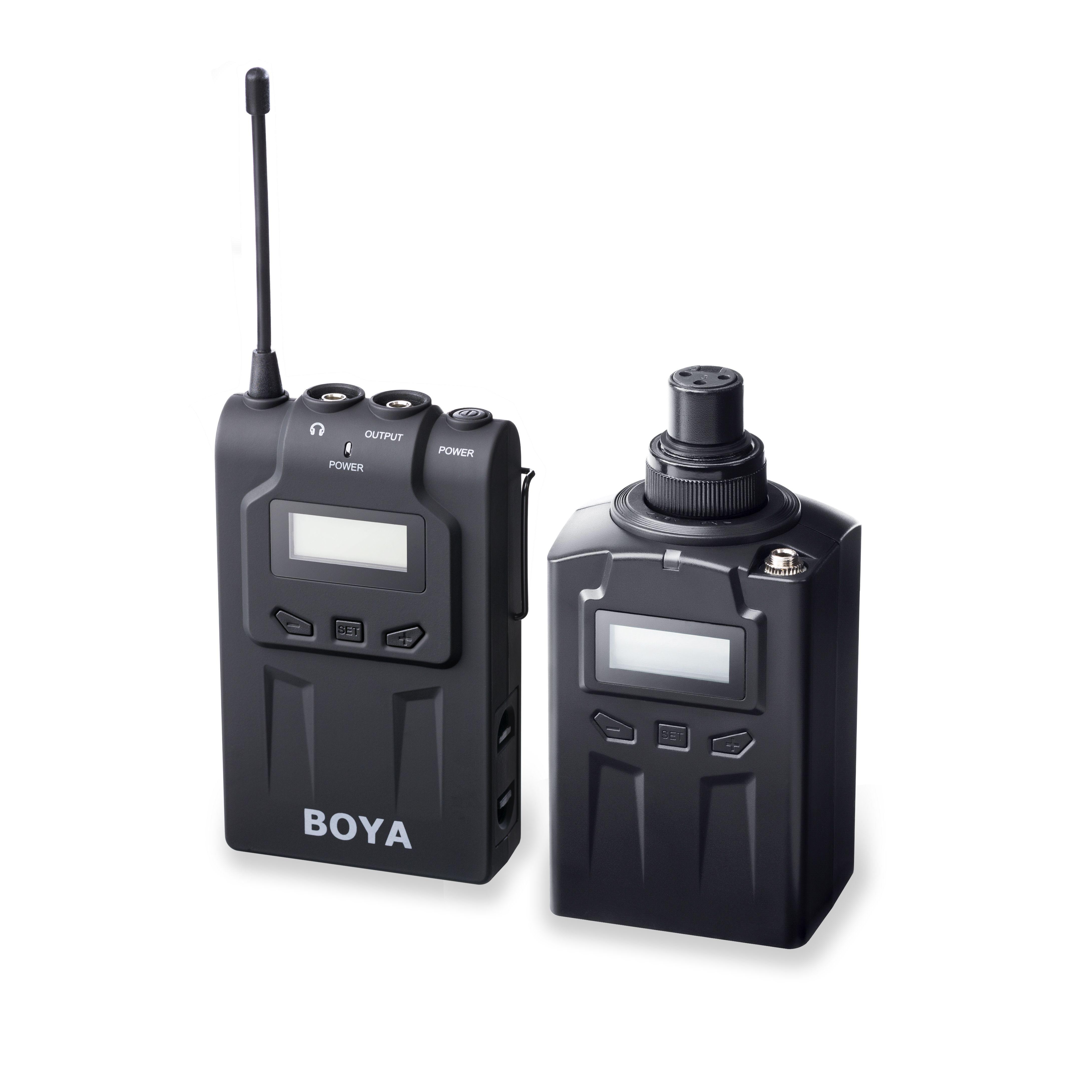 The By Wxlr8 Plug On Xlr Transmitter For Boya Wm6 And Wm8 Uhf Wiring Audio Musical Theatre
