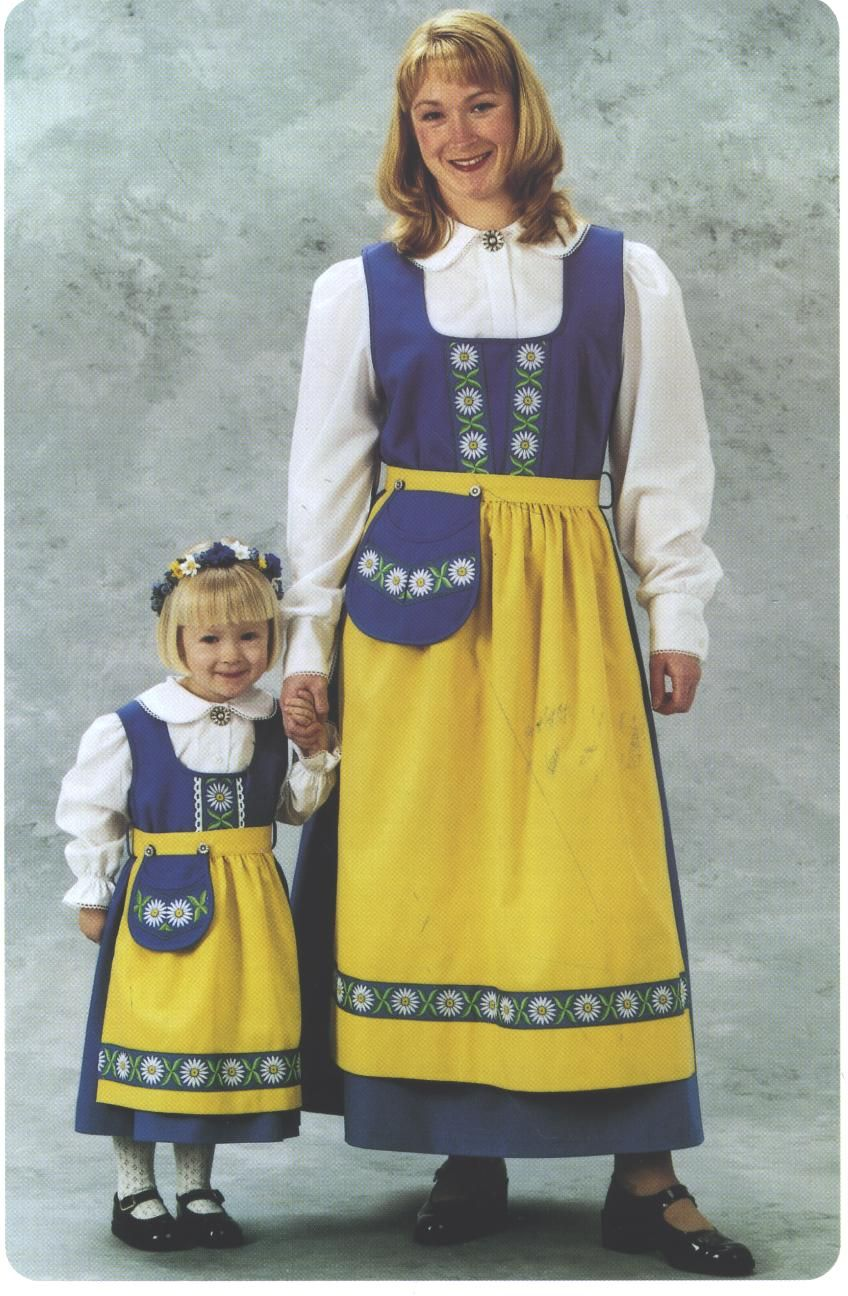 Swedish Clothing For Children Swedish Clothing Swedish Dress Sweden Costume