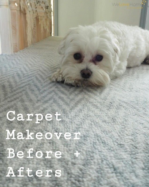 Landing And Hallway Carpet Makeover Before And After Grey Carpet