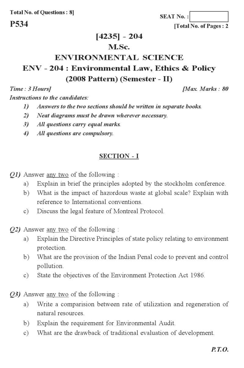 Environmental Law Essay Answer The Best Estimate Professional Argumentative Topics Good Science