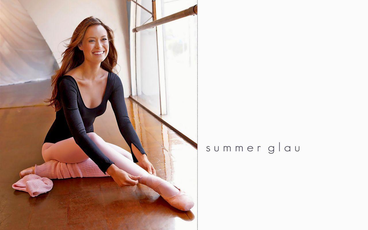 summer glau baby