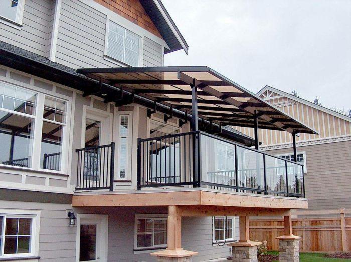 Construire Un Auvent De Terrasse Comment Construire Une Terrasse