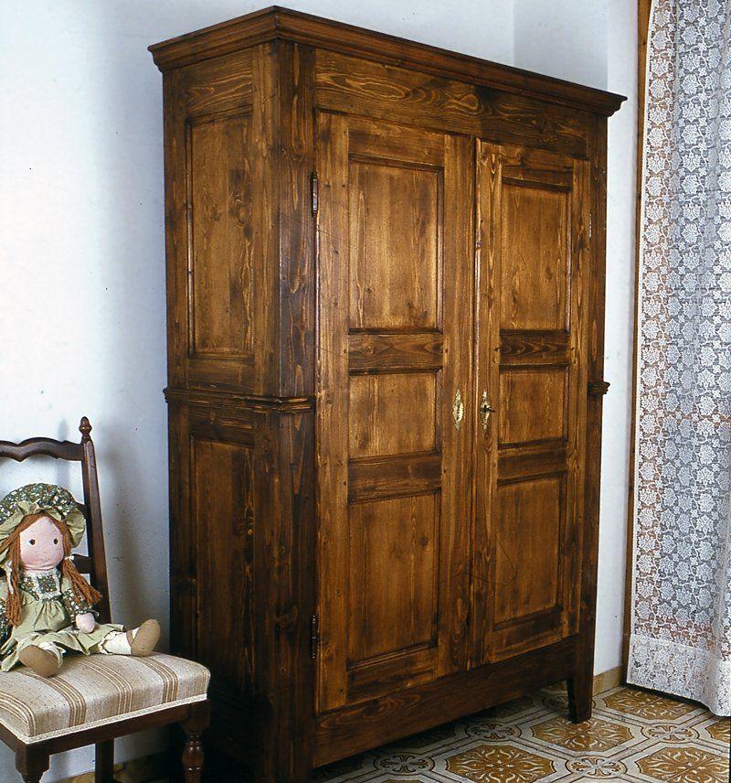 Costruire un armadio in legno massello mobili diy - Costruire un mobile in legno ...