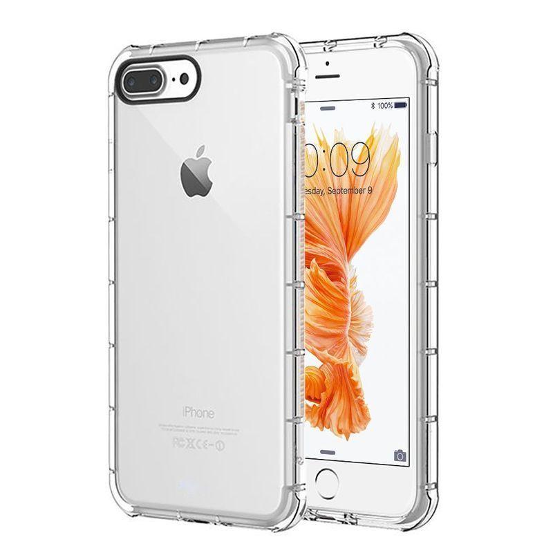 Compatibile Cover iPhone 7 Plus 8 PlusCustodie Gel Trasparente